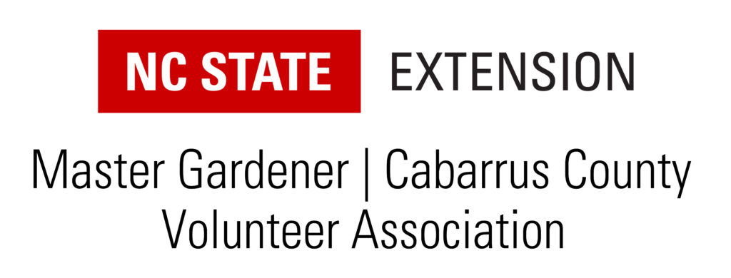 Master Gardener volunteers of Cabarrus County logo