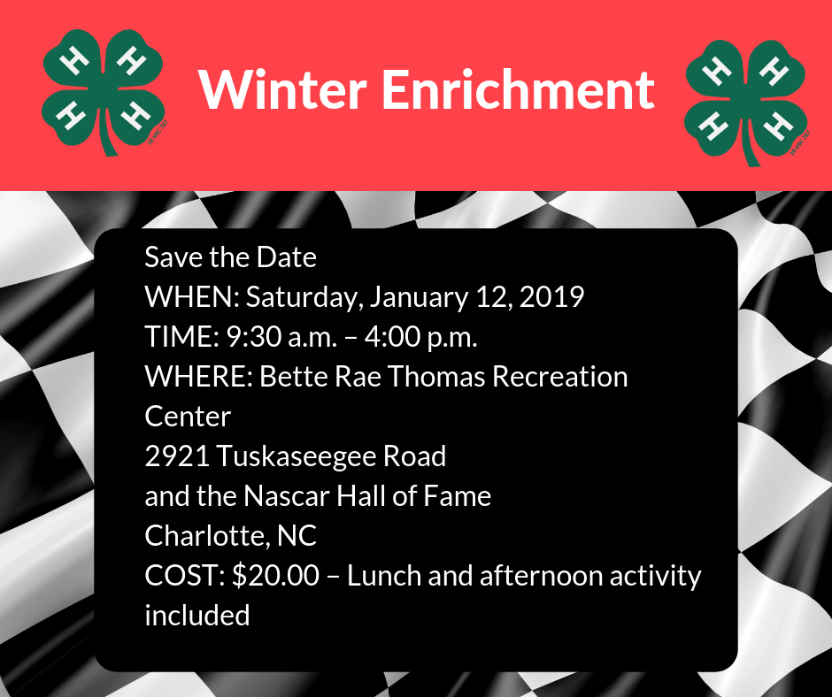 Winter Enrichment flyer image