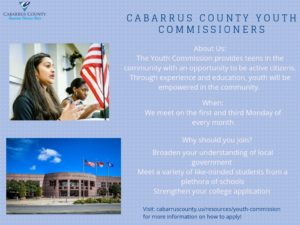Cover photo for Youth Commission Accepting Applications