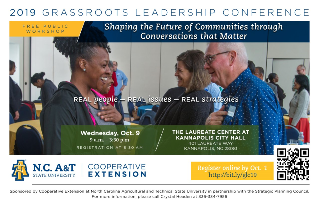 Conference flyer image