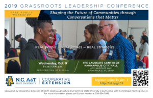Cover photo for Grassroots Leadership Conference