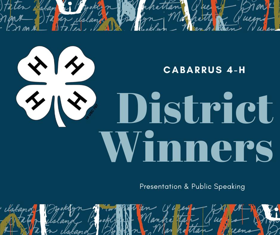 District Winners